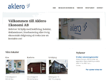 Tablet Preview of aklero.se